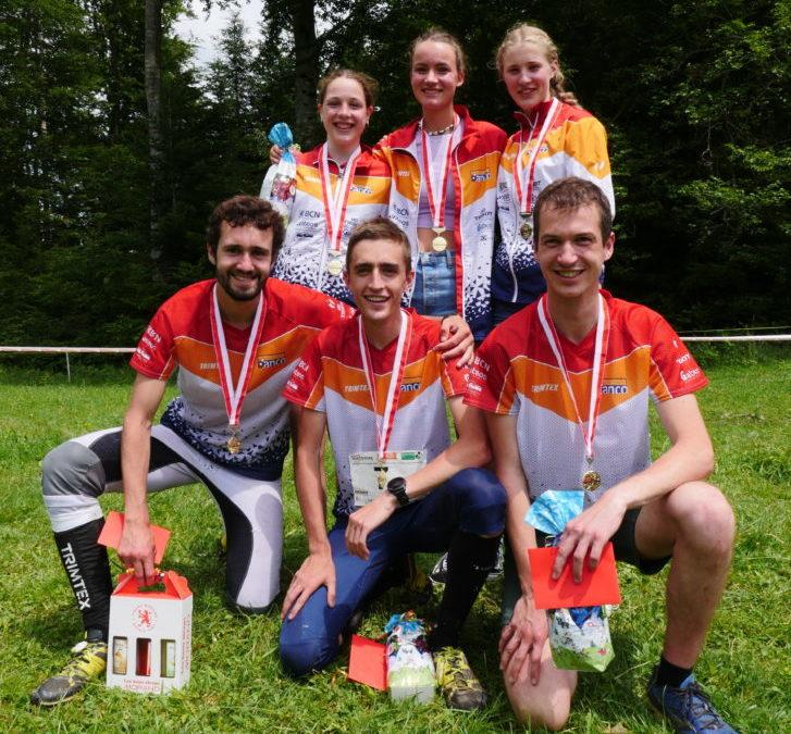 Champions suisses de relais!